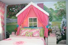 cuter than cute  Little Cottage Girls Room - Design Dazzle