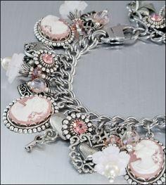 I LOVE these charm bracelets.