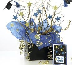 graduation centerpieces for boys 2014 celebrate your favorite grads with a fireworks centerpiece and gift