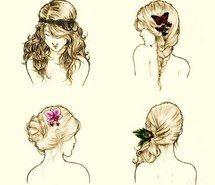 braids drawing - Pesquisa Google