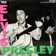 Elvis Presley cover that inspired The Clash album cover, London Calling. Iconic Album Covers, Greatest Album Covers, Classic Album Covers, Cool Album Covers, Music Album Covers, Music Albums, Pop Albums, Music Music, Music Icon