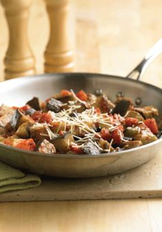 Make a delicious summer dinner with this Italian Sautéed Eggplant recipe!