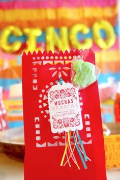 Don't miss this incredible Cinco de Mayo Fiesta! The party favor bags are so much fun! See more party ideas and share yours at CatchMyParty.com Taco Party, Fiesta Party, Party Favor Tags, Party Favors, Favor Bags, Mexican Birthday Parties, Fiesta Cake, Printable Bridal Shower Games, 5th Birthday