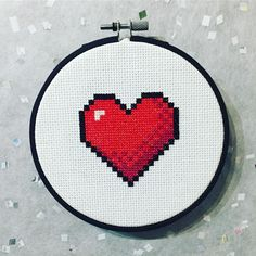 """132 Likes, 7 Comments - Freudian Stitch (@freudianstitch) on Instagram: """"And finally, number three! That's right, it's a HP indicator! I made all three in separate hoops…"""""""