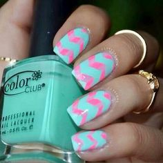 Cotton candy nails♥♥