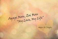 Aiden St. Delphi quote