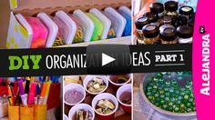 [VIDEO] DIY Organization Ideas (Part 1) from https://www.alejandra.tv/recommends/diy-organization-part1/