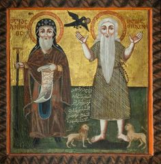 Resultado de imagen para desert monks icons
