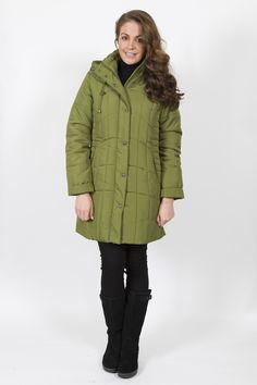 STEILMANN 3/4 PUFFA COAT Winter Collection, Fall Winter, Fashion Dresses, Winter Jackets, Coat, Beautiful, Fashion Show Dresses, Winter Coats, Sewing Coat