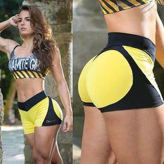 Sexy Push Up High Waist Safety Training Workout Shorts Athletic Fitness Gym Yoga Shorts Women Sport Shorts Running Shorts Women