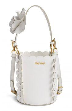 Miu+Miu+Leather+Bucket+Bag