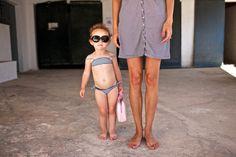 Daugther and mother . Bikinis, Swimwear, Theatre, Spain, Sunglasses, Cute, Fashion, Bonheur, Bathing Suits