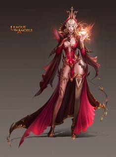 League of angel 2 Fairy on Facebook thread.