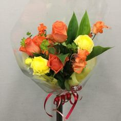 誕生日用の花束を作成しました 4337031