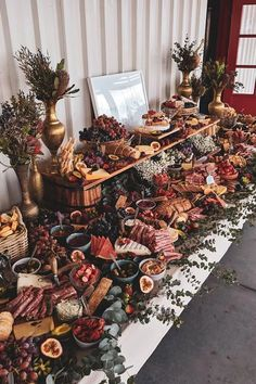 On the hunt for fun ways to entertain your wedding guests? From wedding table games to firework displays, we've got 48 wedding entertainment ideas. Wedding Table, Fall Wedding, Diy Wedding, Dream Wedding, Cheese Table Wedding, Wedding Buffet Food, Party Food Platters, Cheese Platters, Wedding Catering