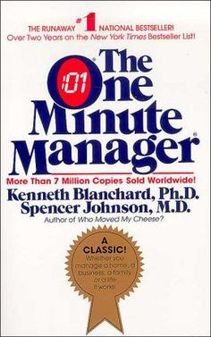 """The One Minute Manager only takes about an hour or less to read but it will change how you approach employee """"management."""" A great read if you are seeking quick results! The Mid-State Group can provide a one hour leadership training on the One Minute Manager"""