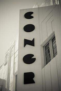 Art Deco Miami Beach by Adam Sherbell, via Behance