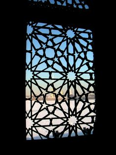 Vladimir Palace view from Persian Room window >>> reminds me somewhat of a screen door in the home I grew up in