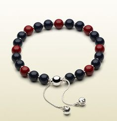 shopstyle.com: Bracelet With Blue And Red Wooden Beads
