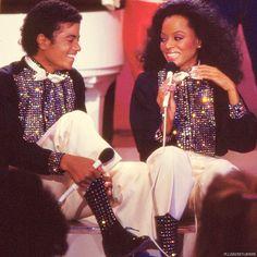 Michael Jackson and Diana Ross ♥♥ - Diana ross/michael jackson Fan Art (32201983) - Fanpop