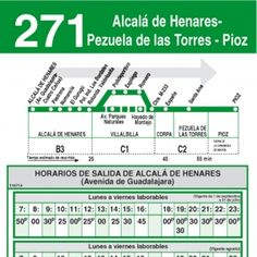 Horario ida de Línea 271