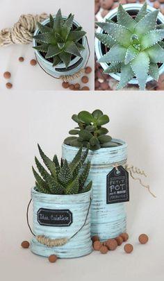 ideas reciclar latas