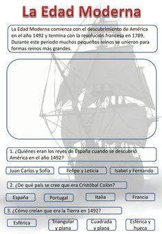 Sistema Solar, Socialism, Early Modern Period, Interactive Notebooks, Social Science, Teachers, Exercises, Solar System