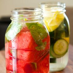 Watermelon & Mint Detox Drink