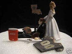 this is a funny wedding topper