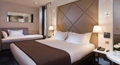 Hotel Longchamp Elysees near Eiffel tower $197 a night