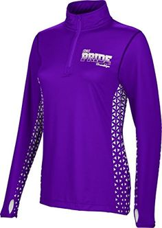 ProSphere Womens ASA Community College Geometric Half Zip Long Sleeve ** You can find more details by visiting the image link.