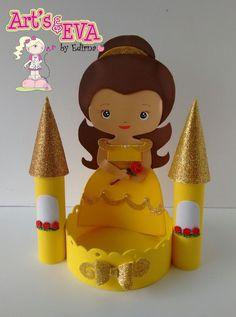 ♥ Ateliê by Edirna ♥: centro de mesa princesas em eva