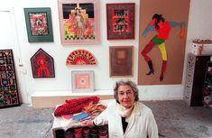 Miriam Schapiro, 91, A Feminist Artist Who Harnessed Craft And Pattern, Dies -