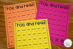Roll and Read Vowel