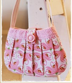 Pretty As A Petal Girls Bag   Ted and Toot Children's Bags & Clothing   madeit.com.au