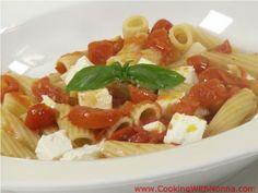 Rigatoni alla Caprese:  A super easy and delicious dinner!