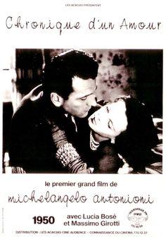 CARTELES DEL  CINEMA: CRÓNICA DE UN AMOR (Cronaca di un amore,1950), de ...