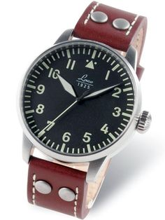 Laco Augsburg Type A Dial Automatic Pilot Watch, New Sapphire Crystal #861688. Nice pilot watch. $430.