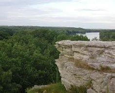 Rock River, I believe (correct me if I'm wrong) that this is Chimney Rock. Great place to see bird migrations