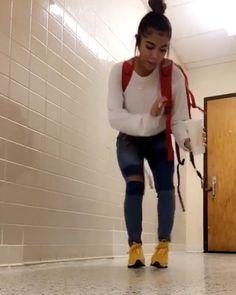 Me in between class ?