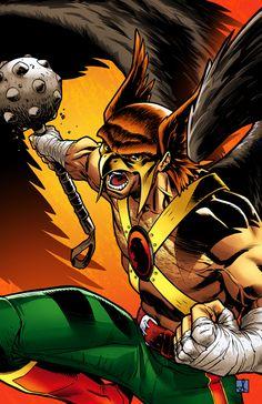 Classic Hawkman colour by sean-izaakse.deviantart.com on @deviantART