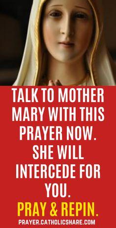Prayer For A Job, Fake Stone, Miracle Prayer, Answered Prayers, Blessed Mother Mary, Hail Mary, God Jesus, Spiritual Growth, Catholic