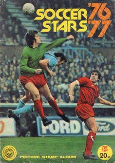 Soccer Stars '76 '77 Album (Front Cover)