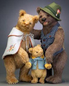 R. John Wright's 'The Three Bears'