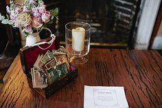 An Agatha Christie Poirot inspired wedding