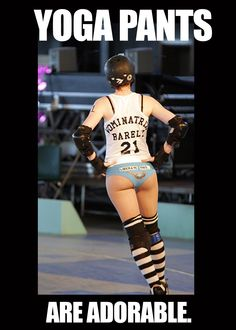 Why Roller Derby Girls Have the BEST -->
