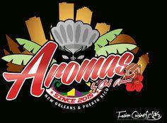 Aromas Food Truck Logo