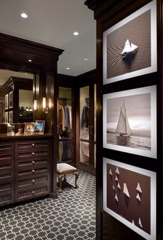 Nice-Walk in Gentlemen's Dressing Room@Lixurydotcom via
