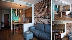 #Kitchen Design #Studio SMALL APARTMENT
