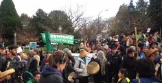 Thousands rally against Kinder Morgan pipeline expansion